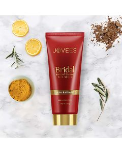 Jovees Herbal Bridal Brightening Face Scrub