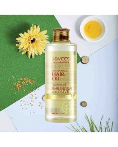 Bhringraj & Olive Restructuring Hair Oil