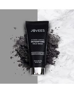 Jovees Herbal Activated Charcoal Detoxifying Face Wash