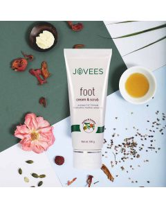 Jovees Herbal Foot Cream & Scrub