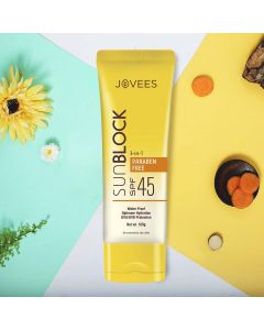 Jovees Herbal Anjeer & Carrot Sun Block SPF-45