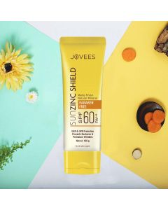 Jovees Herbal Sun Zinc Shield SPF 60 PA +++