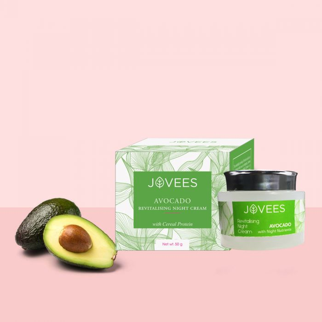 Buy Avocado Night Cream Online at Best Prices-Jovees